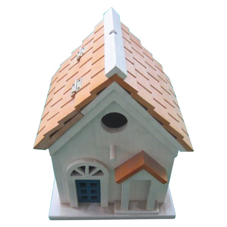 Innovative new products high quality and low price Customized sturdy outdoor wood bird habitat