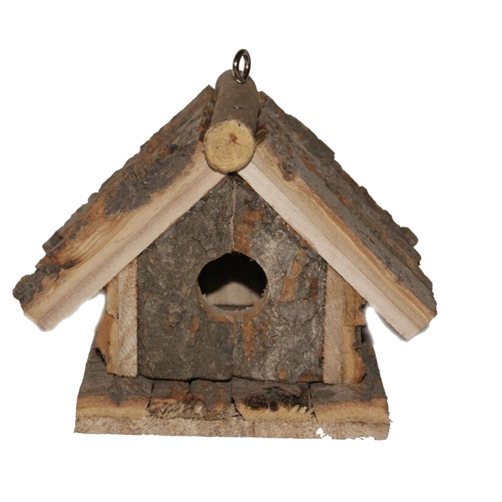 customized antique wooden bird house